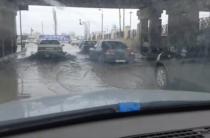 Как в Венеции… – жамбылские водители плавают по жамбылским дорогам