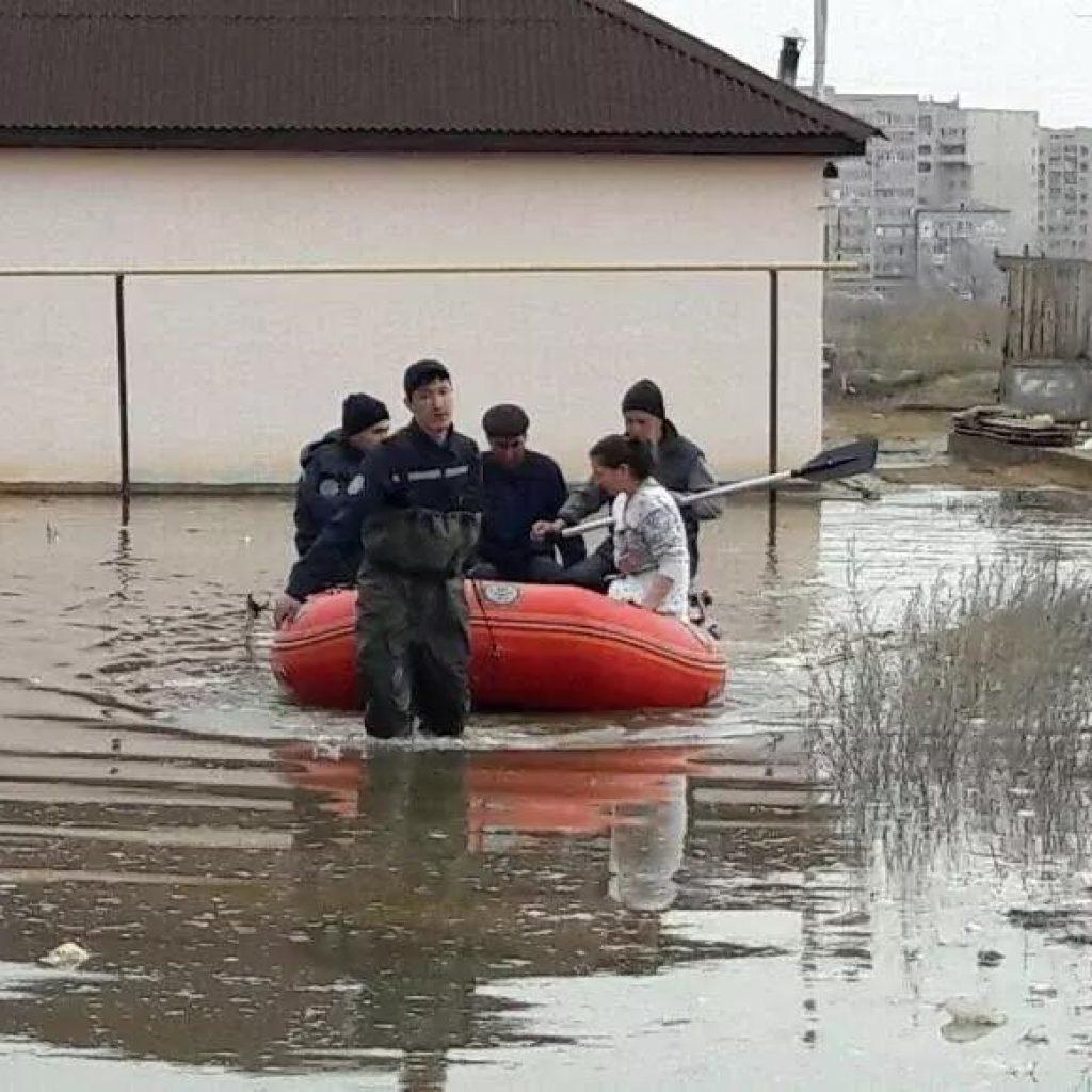 паводки в Казахстане