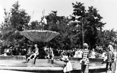 Первый фонтан Тараз