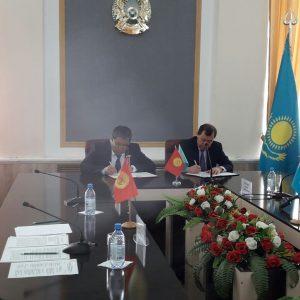 Карим Кокрекбаев встретился с полномочными представителями Правительств Кыргызской Республики