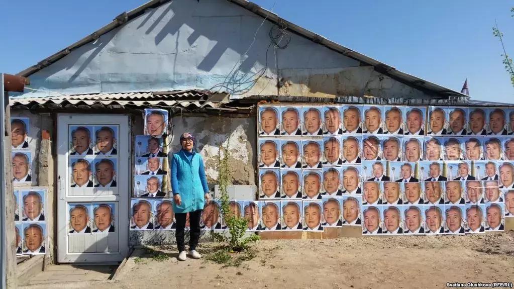 Портрет Назарбаева