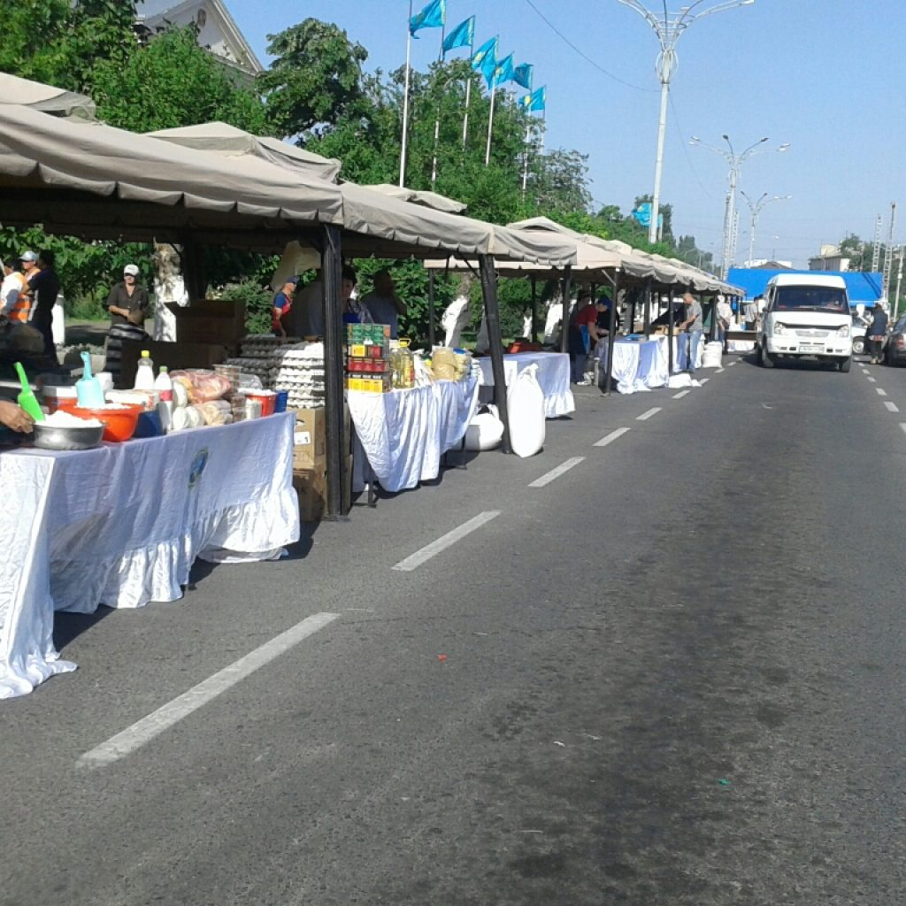ярмарка в Таразе