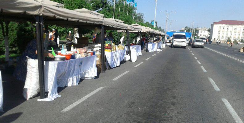 В Таразе проходит ярмарка товаров