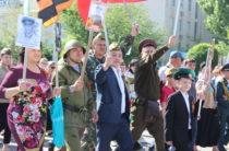 7 тысячный «Бессмертный полк» прошел по улицам Тараза