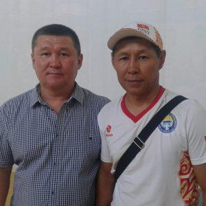 Мурат Жарымбеков и Талгат Кыдыралиев.