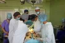 Новые технологии лечения онкологии показали жамбылским врачам алматинские специалисты