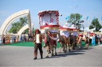 Как движется ЭКСПО-караван из Тараза в Астану