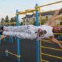 Первую спортивную площадку street workout открыли в Таразе