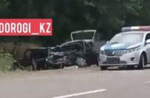 В ДТП со свадебным кортежем в Жамбылской области погибли трое человек
