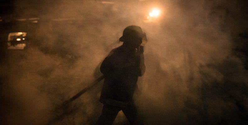Возгорание в ТРЦ МАRT — как это было