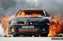 Жара: Три автомашины сгорели в Жамбылской области за одни сутки