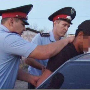Стрелявшую молодежь задержали в Жамбылской области