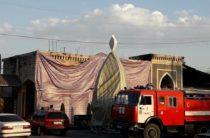 Пожар в таразской чайхане «Шах»: несчастный случай или поджог?