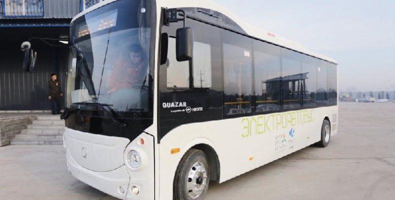 Тараз переходит на европейские экологичные автобусы