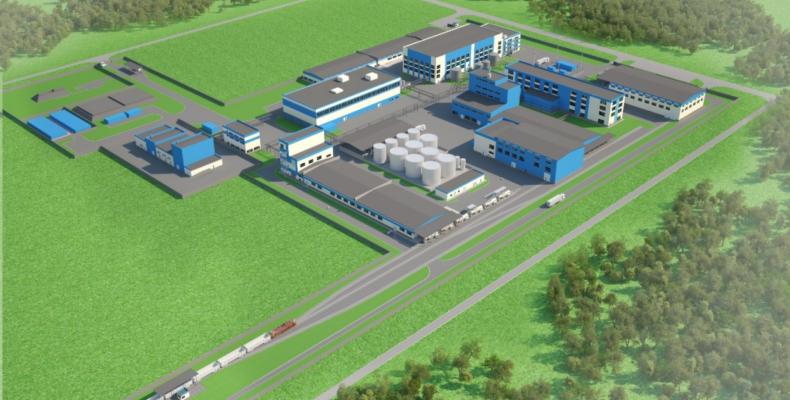 Первую продукцию предприятия СЭЗ «Химпарк «Тараз» выдадут уже весной 2018 года
