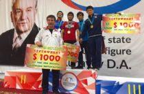 Завершился турнир по вольной борьбе памяти Д. Конаева