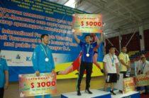 80 тысяч долларов составил призовой фонд турнира по вольной борьбе в Таразе