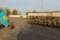 В Жамбылской области проводили домой Защитников Отечества
