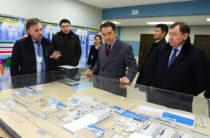 Премьер-министр РК Бакытжан Сагинтаев ознакомился с ходом строительства химического комплекса «ЕвроХим–Каратау»