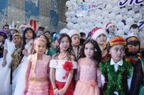 В Жамбылской области состоялась новогодняя елка от имени Президента Республики Казахстан