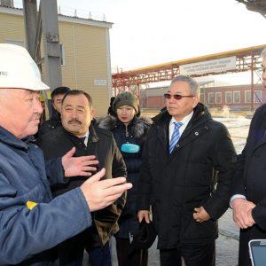 Ержан Кудайберген и Омархан Оксикбаев посетили Жамбылскую область