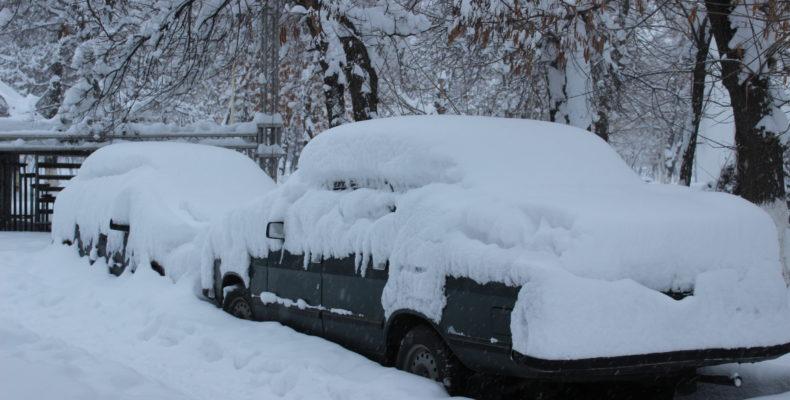 Зима в Таразе: Все снеги в гости к нам