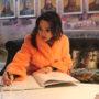 Динара Сатжан отдала дань памяти «Халық Қаһарманы» Газизу Байтасову