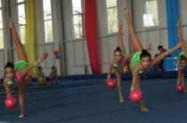 Пожелайте жамбылским гимнасткам удачи!