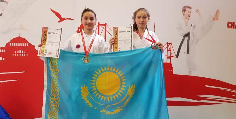 Три золота и две бронзы завоевали жамбылские каратисты на чемпионате мира