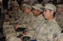 Как в Таразе провожают в армию
