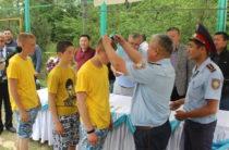 Жамбылские полицейские провели конкурс для воспитанников специализированной школы