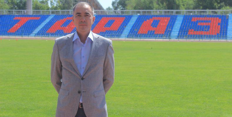 ПОЗДРАВИМ ИМЕНИННИКА – руководитель футбольного клуба «Тараз» Канат Мусатаев