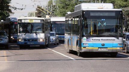 Автобусы в Таразе запустят после того, как вымоют и продезинфицируют