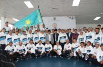 Жамбылских спортсменов проводили на III Всемирные игры кочевников