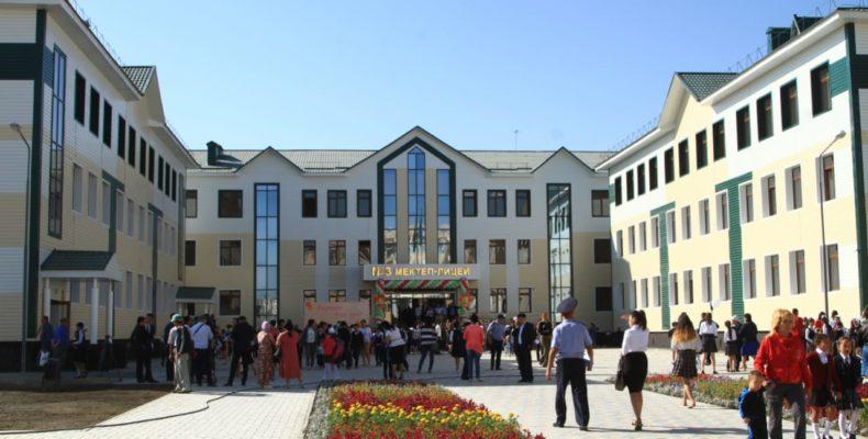 1 қыркүйек Білім күніне орай Жамбыл облысында 9 жаңа мектеп ашылды