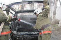 Три машины за сутки сгорели в Жамбылской области