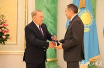 Аким Жамбылской области Аскар Мырзахметов награжден орденом «Парасат»