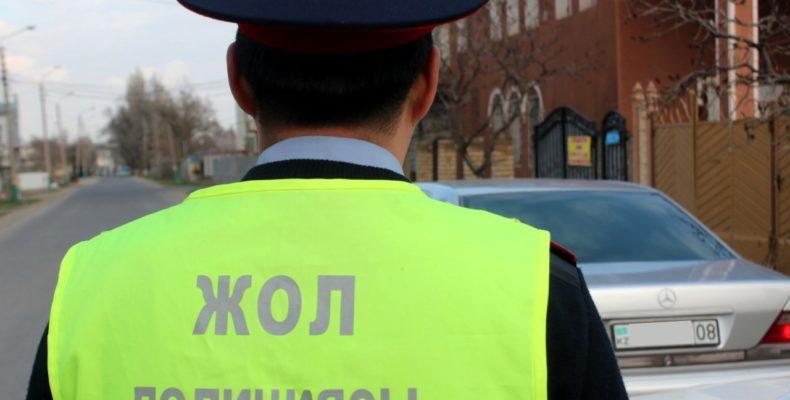 Жамбылские полицейские не позволили водителям расслабиться на Наурыз