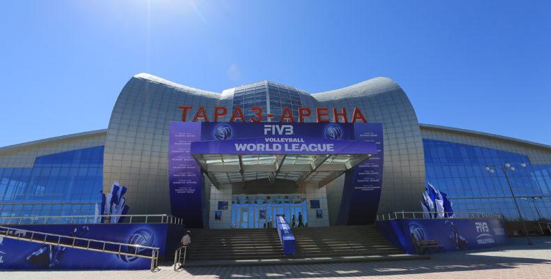Дворец спорта «Тараз-Арена»: красиво, современно, массово
