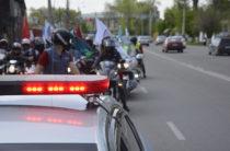 Байкеры стран Средней Азии устроили мотопробег в Таразе