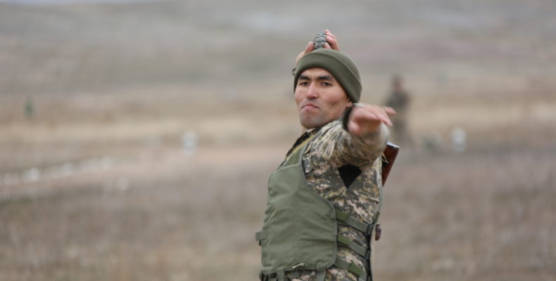 «Воином мира»стал военнослужащий регионального командования «Юг»