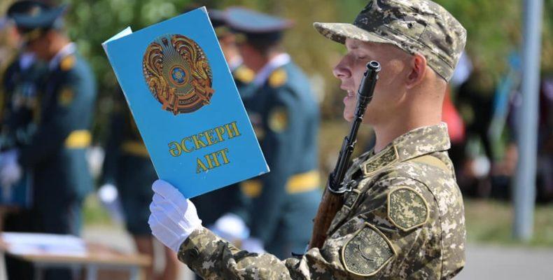 На верность Родине присягнули свыше тысячи воинов южного региона