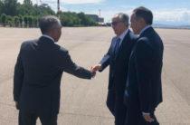 Президент РК Касым-Жомарт Токаев находится с рабочей поездкой в Жамбылской области
