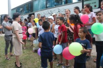 В летних лагерях отдыха Жамбылской области отдыхают дети из Арыси