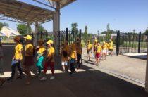 Два президента побывали в «Коне Тараз» — о чем узнали участники детского туристического поезда «Туган елге саяхат»