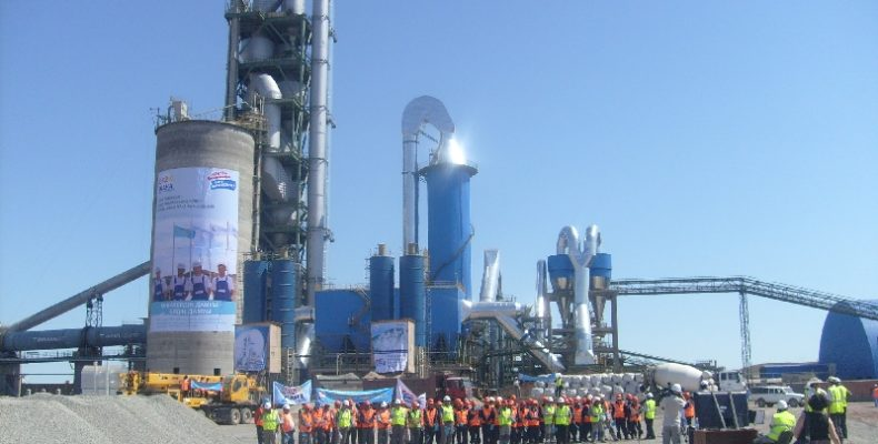 Мынаральский цементный завод наращивает мощности