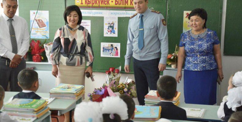 Знают ли жамбылские дети Правила дорожного движения – выяснял начальник ДП полиции Арман Оразалиев