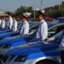 Ключи от новых автомобилей вручили жамбылским полицейским