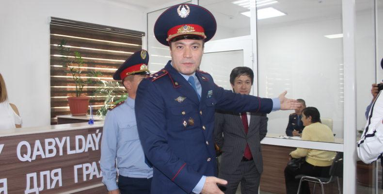 Удобно, доступно, прозрачно — фронт-офисы полиции во всех районах Жамбылской области