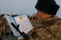 В войсках РгК «Юг» приняли воинскую присягу